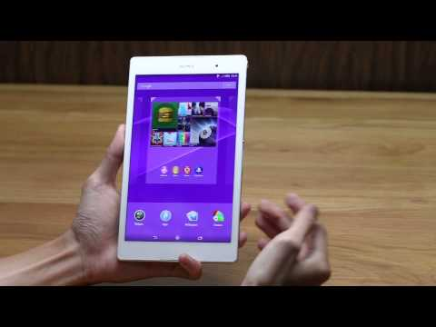 Đập hộp Sony Xperia Z3 Tablet Compact