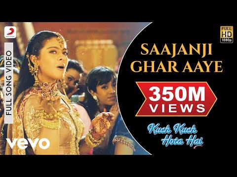 Video Saajanji Ghar Aaye - Kuch Kuch Hota Hai | Kajol | Salman Khan download in MP3, 3GP, MP4, WEBM, AVI, FLV January 2017