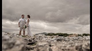 L + E couple's from Lithuania wedding in Majorca