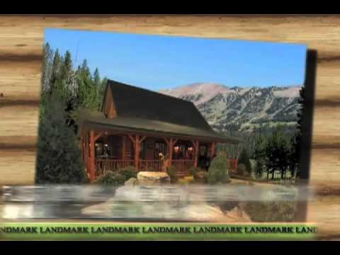 Panelized Wood Home Kits and Log Homes by Landmark Home and Land Co.