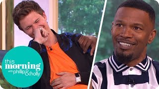 Video Jamie Foxx Has Everyone in Stitches Talking About 'Baby Driver' | This Morning MP3, 3GP, MP4, WEBM, AVI, FLV April 2018