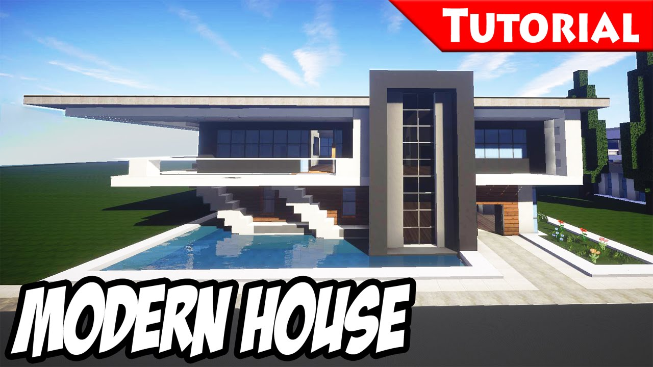 Songs in minecraft easy modern house mansion tutorial 5 hd wallpaper of this video baditri Choice Image