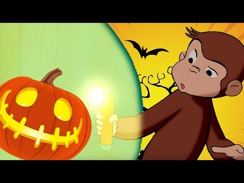 Curious George 🐵👻HALLOWEEN SPECIAL - In The Dark 🎃🐵 Kids Cartoon 🐵 Kids Movies | Videos For Kids