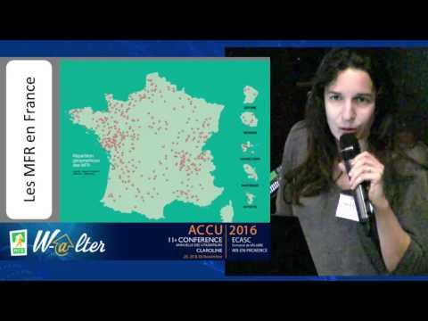 ACCU2016 : Marie Blutteau Maisons Familiales Rurales e projet W-@lter