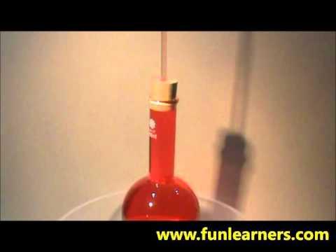 effects of the decreased in temperature in liquid