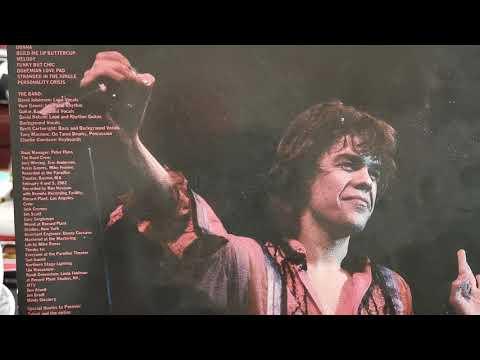 David Johansen - Personality Crisis - Vinyl Live It Up LP 1982