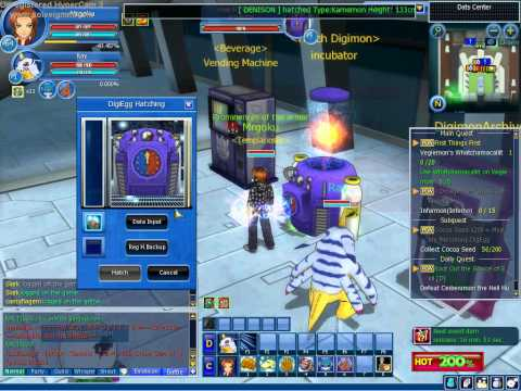 Digimon Masters Online Mercenary DigiEgg Adder 2014 Update YouTube