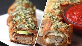 5 Delicious Stuffed Garlic Bread Recipes • Tasty by Tasty