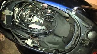 10. 2009 Vespa GTS 250 i.e. not starting