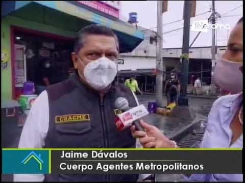 Municipio de Guayaquil interviene lugares con alto nivel de contagio
