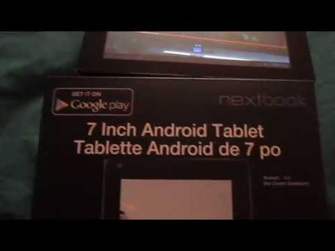 NEXTBOOK 7 in Android 4.0 Tablet 8GB Memory