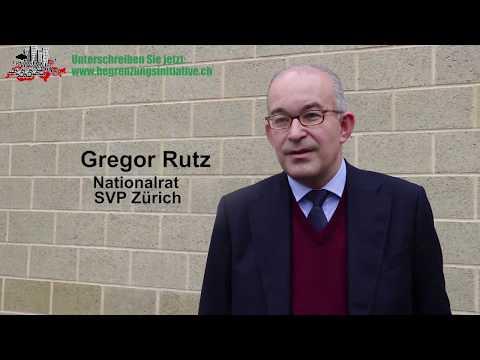 NR Gregor Rutz (ZH): «Warum ich die Begrenzungsinitiative unterschreibe»