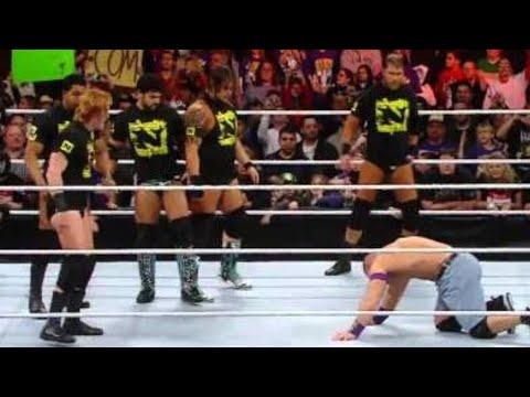 Raw: CM Punk joins The Nexus