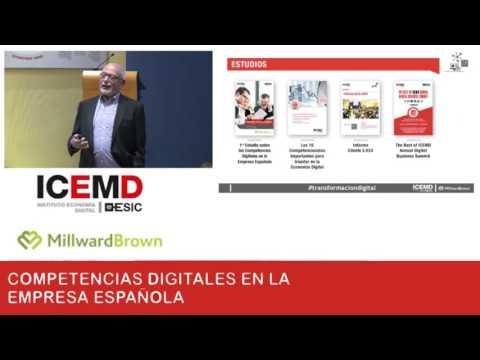 Primer Estudio sobre las Competencias Digitales en la Empresa Española