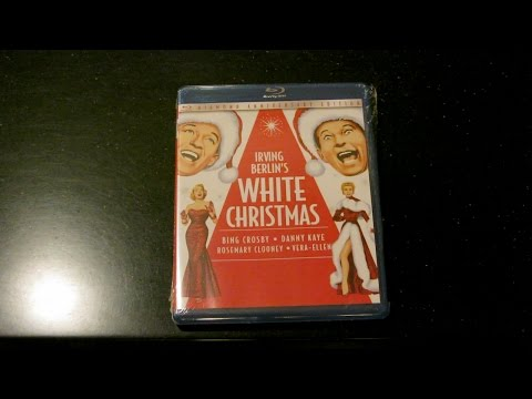 White Christmas Blu-ray 4 Disc Bonus CD Unboxing