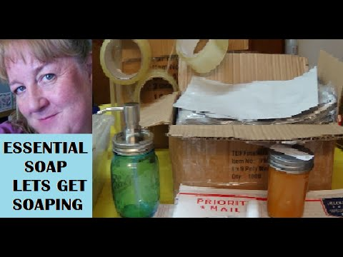 How to Mail/Ship Homemade Soap from Online Sales with Essential Soap