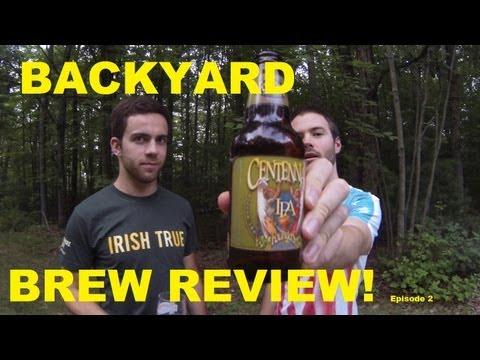 Backyard Brew Review! Centennial IPA!