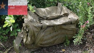 In this video, I review the Cannae Pro Gear Transport Duffle Bag and discuss some of the unique features that separate this bag from its competition. For more information on this bag or other gear offered by Cannae, check out CannaeProGear.comThanks for watching and subscribing! Keep up the good fight!~The Lonestar PatriotCheck out Facebook.com/TheLonestarPatriot
