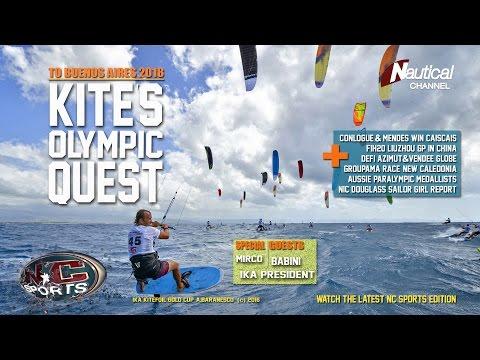 NC Sports 7 Oct|Kite Olympic Quest, WSL Caiscais, Grand Slam, F1h20 China, Defì Azimut
