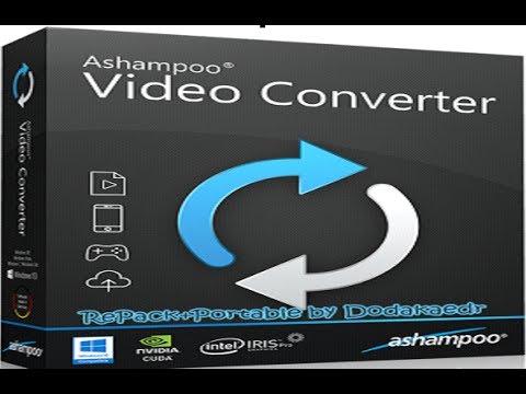 Ashampoo Video Converter удобная программа для конвертирования видео СКАЧАТЬ + ТАБЛЕТКА
