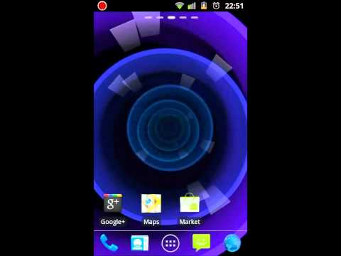 Video of Circle Rose Live Wallpaper