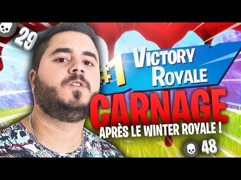 🔥 CARNAGE APRES LE CAST DU WINTER ROYALE !