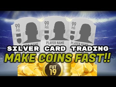 How I Made 400k Coins Trading Silver Players | Fifa 19 Ultimate Team