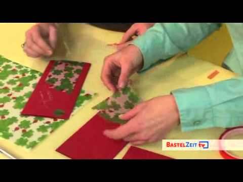 Bastelzeit TV 27 - Neujahrs-Grußkarte mit Paperado