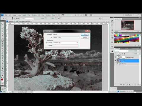 Frogman's Photoshop Tutorials: Infrared Photo Effect