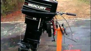 New Mercury 25hp tiller 2 stroke outboard longshaft
