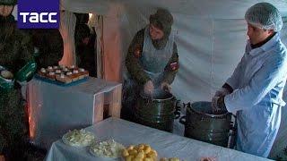 Более 100 пунктов обогрева развернули в воинских частях на Урале из-за морозов