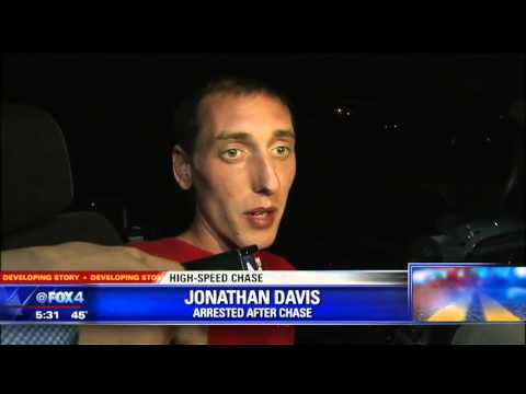 Arrested Driver Gives Hilarious Interview After High Speed