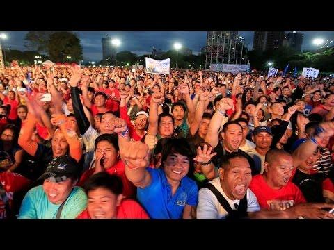 Μανίλα: Στους δρόμους κατά του προέδρου Ντουτέρτε