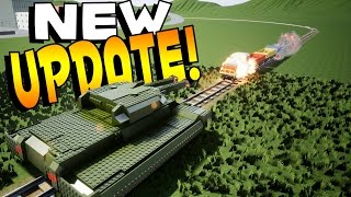 A NEW UPDATE FOR BRICK RIGS! This update is actually REALLY huge too! Not only does this Brick Rigs Update change the entire user interface, but adds a ton o...