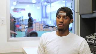 Goin' To Work: Nick Young (Wizards) & Paul George (Pacers)