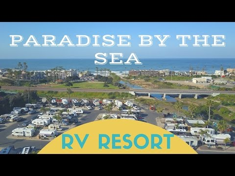 Paradise By The Sea Beach RV Resort in Oceanside CA - Southern California RV Park Recommendation