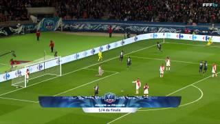 Video Coupe de France : 1/4 de finale : Paris-SG-Monaco (2-0), le résumé MP3, 3GP, MP4, WEBM, AVI, FLV Oktober 2017