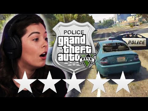 """Real Police Try Escaping 5 Stars in """"Grand Theft Auto V"""" • Pro Play"""