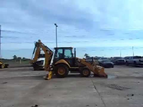 CATERPILLAR BACKHOE LOADERS 416FST equipment video 8YRfNn7puq0