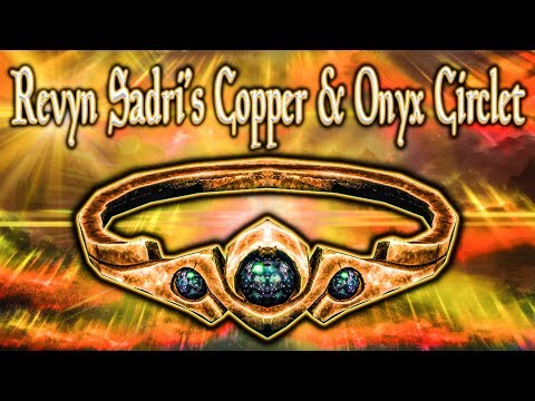 Skyrim SE - Revyn Sadri's Copper & Onyx Circlet - Unique Jewelry Guide