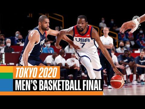 France 🇫🇷 vs USA 🇺🇸    Men's Basketball Gold Medal Match   Tokyo Replays