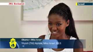 Miss Israel Prepares For Big Obama Date: Beauty Queen Will Meet US President In Jerusalem