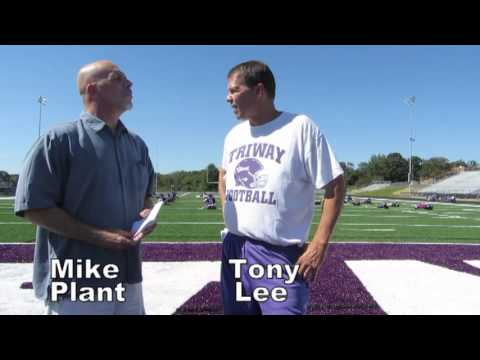 the Daily Record - The Daily Record sports editor Aaron Dorksen interviews Triway High School football captain Cal Huffman and sports writer Mike Plant interviews Triway head c...