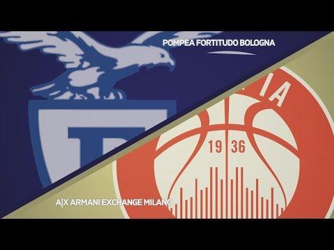 Fortitudo, gli highlights del match contro Milano