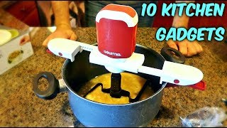 Video 10 Kitchen Gadgets put to the Test - Part 21 MP3, 3GP, MP4, WEBM, AVI, FLV Maret 2018