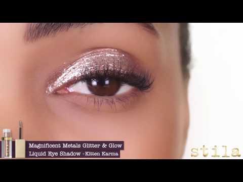 Stila Magnificent Metals Glitter Amp Glow Liquid Eye Shadow