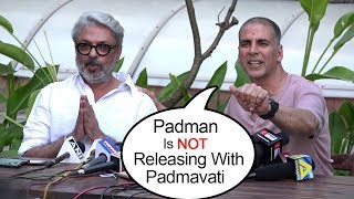 Video Akshay Kumar Postpones Padman Release To AVOID Clashing With Padmavati On 26/1/2018 -Ranveer.Deepika MP3, 3GP, MP4, WEBM, AVI, FLV Januari 2018