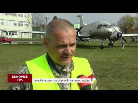 TVS: Kunovice - Úklid v leteckém muzeu