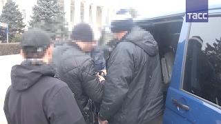 Видео задержания бывшего вице-премьера Крыма