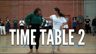 "Video ""Time Table 2"" - BHANGRA FUNK Dance | Shivani Bhagwan and Chaya Kumar Choreography MP3, 3GP, MP4, WEBM, AVI, FLV Maret 2018"